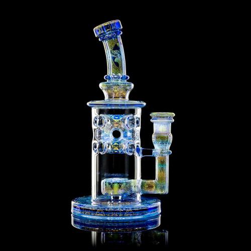 "Mothership Glass - Cerulean ""Artifact"" Straight Fab Set"