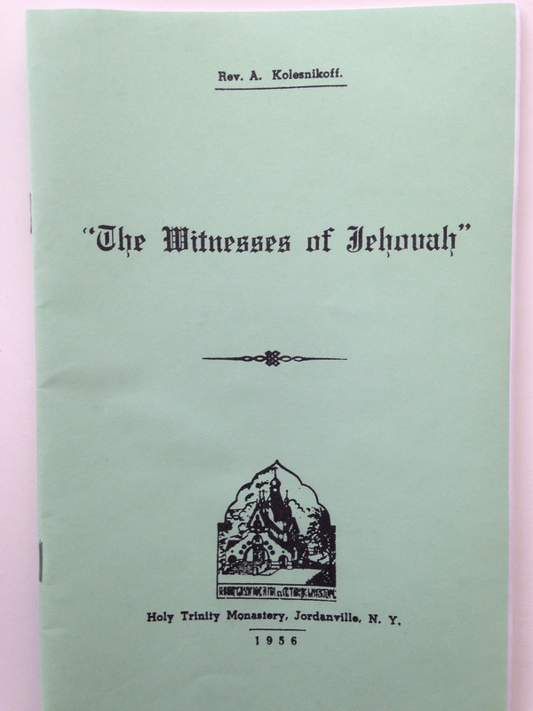 THE WITNESSES OF JEHOVAH