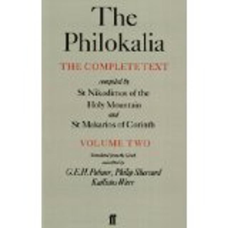 THE PHILOKALIA, V2
