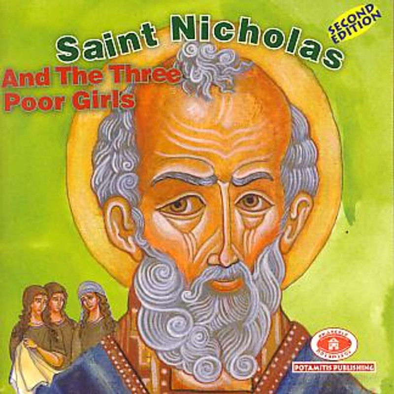 SAINT NICHOLAS AND THE THREE POOR GIRLS, No. 10 (From the Paterikon for Kids Set)