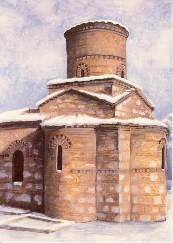 Panagia Kastriotissa, mid-9th century, Kastoria, Greece