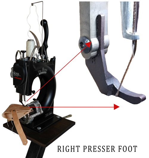 Right Presser Foot (Zipper Foot)