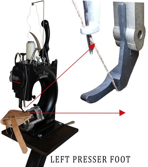 Left Presser Foot (Zipper Foot)