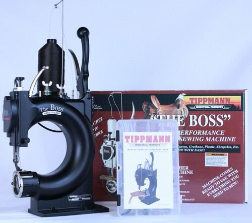 Tippmann Boss Leather Sewing Machine Deluxe Package