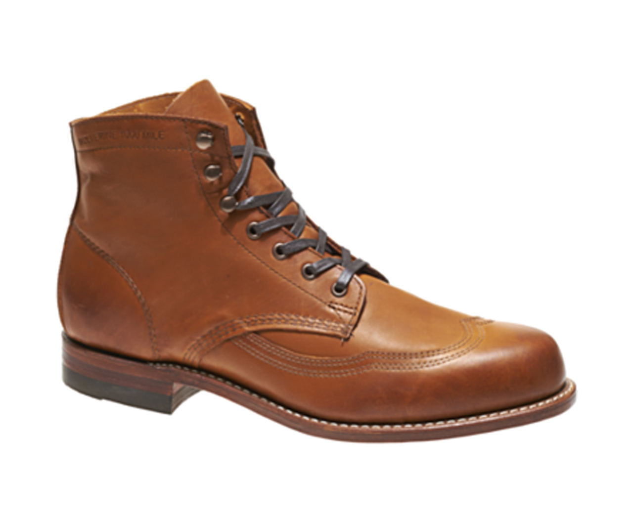 e97958ad53a Wolverine W00379 Womens Addison 1000 Mile Wingtip Boot
