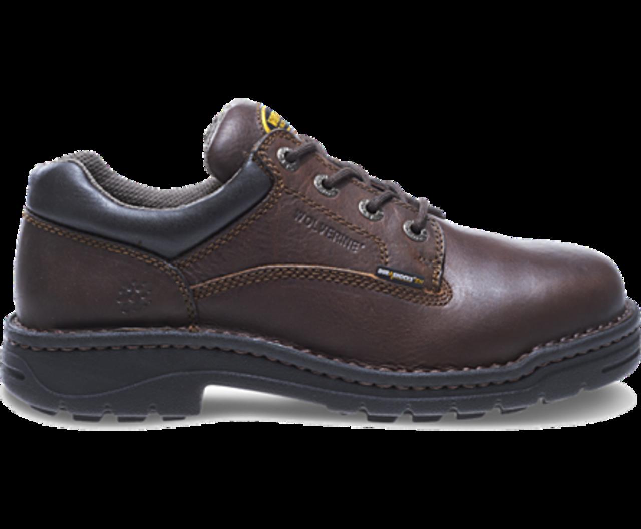 d193fa7cd6f7 Wolverine W04373 Mens Exert DuraShocks® Steel-Toe Opanka Oxford Work Shoe