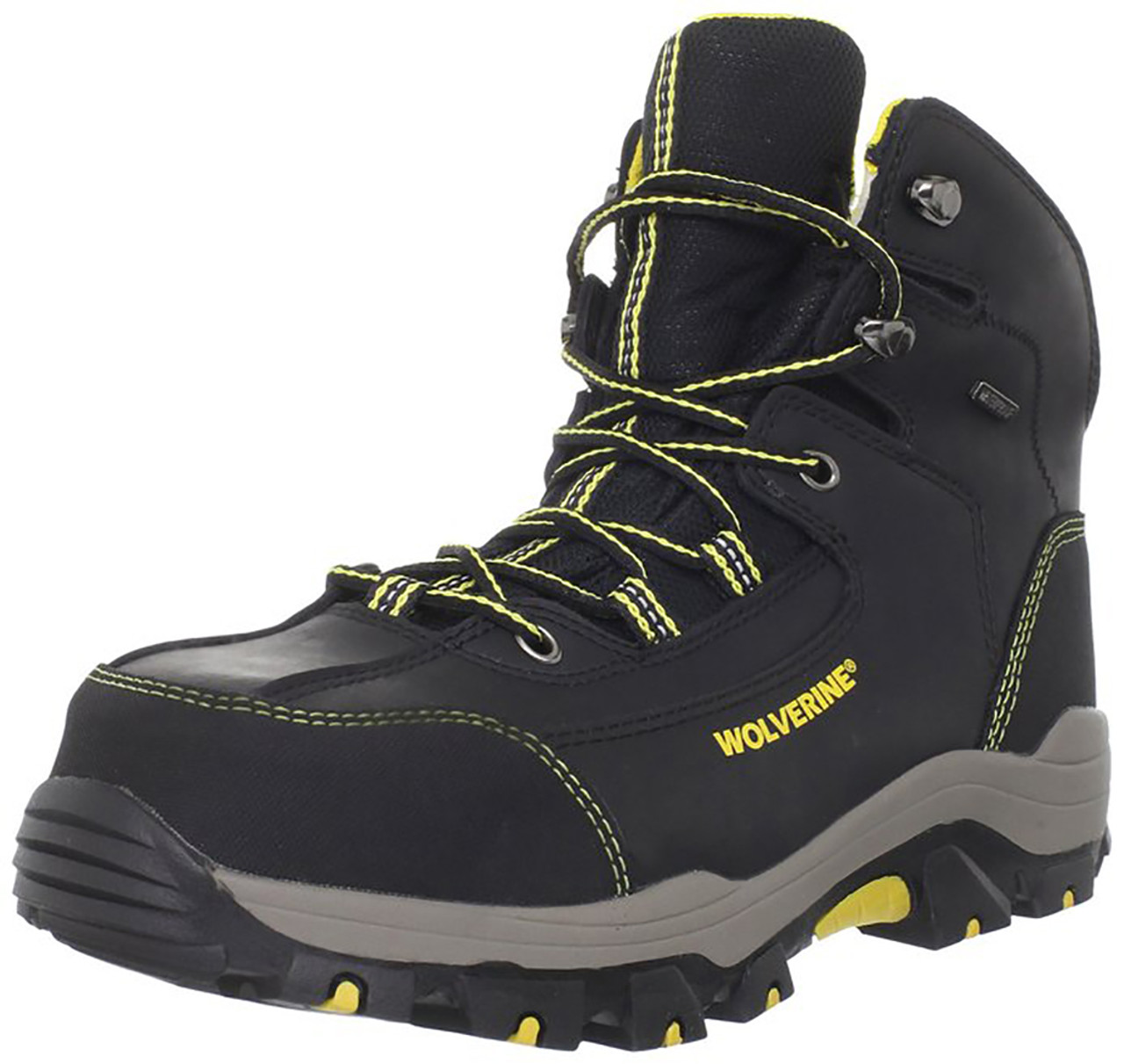 d7755b59619 Wolverine W10075 Mens Waterproof Composite Toe Bucklin Hiking Boot