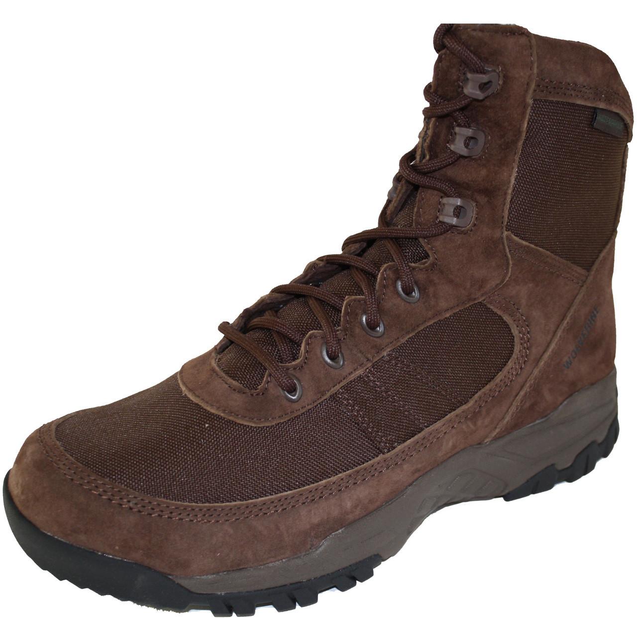 4d83af6dd90 Wolverine W30077 Mens Bobwhite Waterproof Realtree Brown 7 Inch Boot