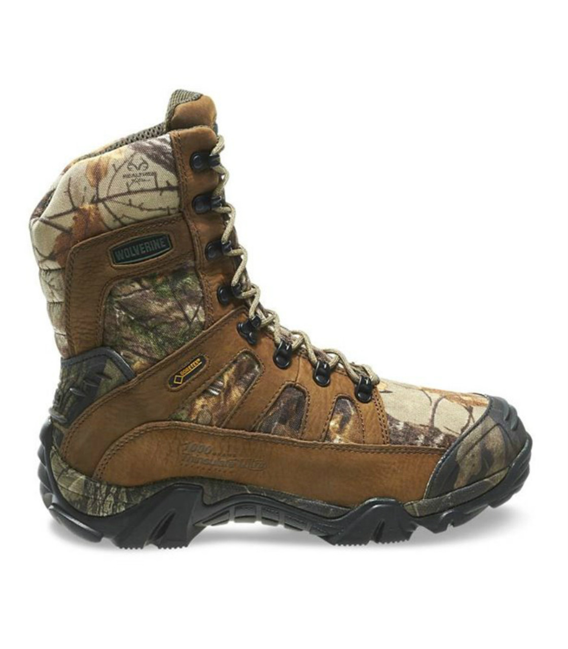 962b3a1b584 Wolverine W30082 Mens 8 Inch Ridgeline Xtreme Hunting Boot