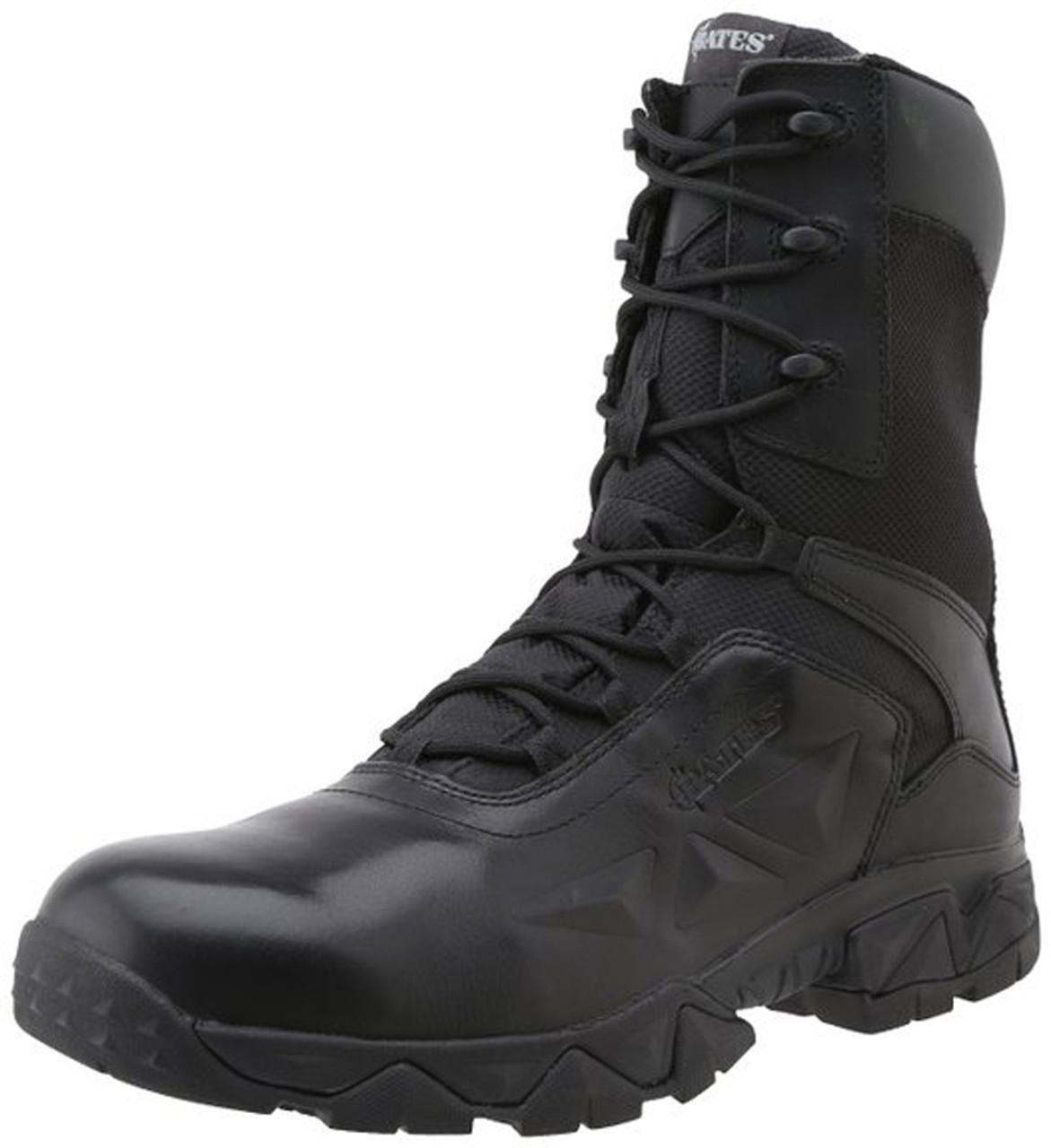 a3f82de5b17 Bates 2349-B Men's Delta Nitro-8 Zip Work Boot