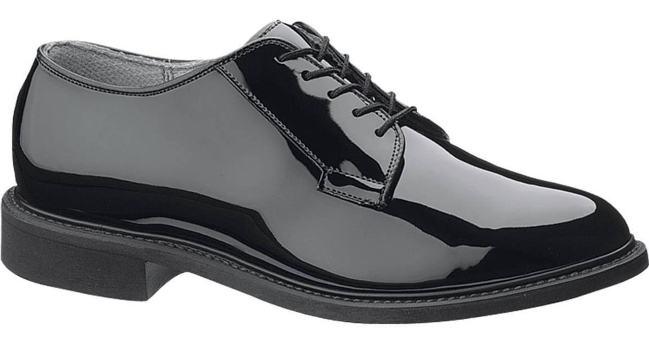Bates 941-W Mens Uniform Black High Gloss Military Oxfords Shoes ... a4c23474738