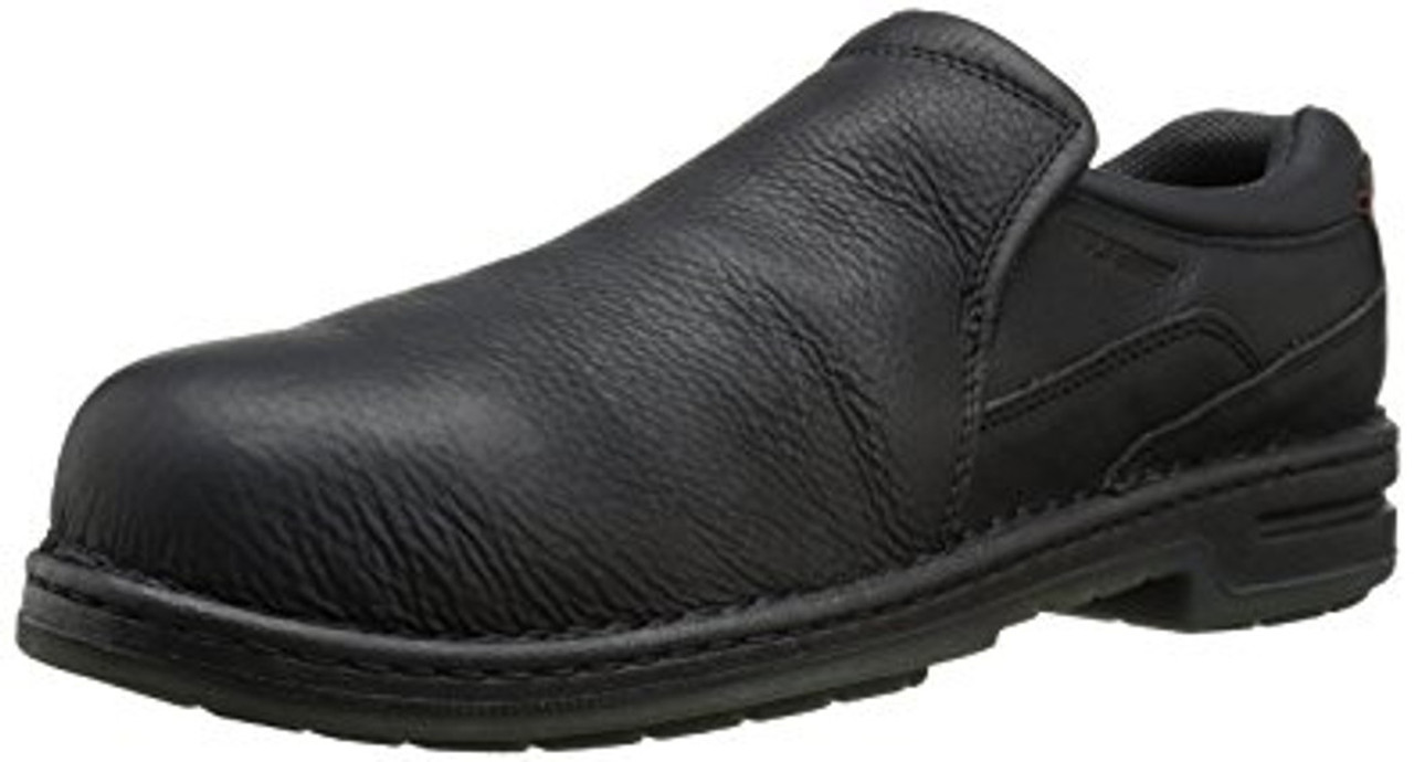 ef0cc453d45 Wolverine W05000 Mens Marcum DuraShocks Opanka Steel-Toe EH Slip-On Shoe