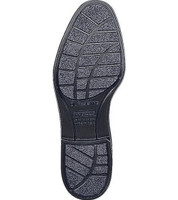 Bates 112-B Mens Durashocks Black Leather Uniform Oxford Shoe