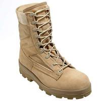 Bates 1129-B Mens 8 Inch Durashocks Desert Tan Combat Boot