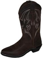 Bates 44121-B Mens Bozeman Western Style Motorcycle Boot