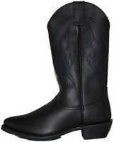 Bates 44120-B Mens Bozeman Western Style Motorcycle Boot