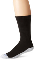 Bates Men's Tactical Mid Calf Bottom Black 1 Pk Large Socks Made in the USA