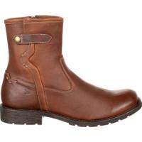 Durango DDB0152 Mens Drifter Side-Zip Cowboy Boot