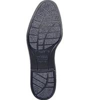 Bates 112 Mens Durashocks Black Leather Uniform Oxford Shoe