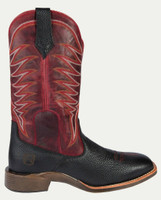 Noble N65023-019 Mens Black/Red Rugged All-Around Square Toe Boot