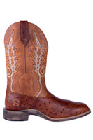 Noble 65024-149 Mens All Around Square Toe Rustic Cognac Boot