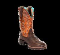 Noble 65026-132 Mens All Around Cowboy Brown Pumpkin Boot