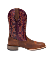 Noble 65026-137 Men's All Around Square Toe Authentic Brown Boot