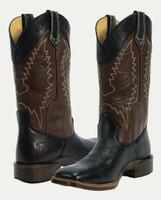 Noble N66004-019 Womens Black/Mahogany All-Around Square Toe Boot