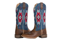 Noble 66043-137 Womens All Around Sante Fe Rustic Brown Boot