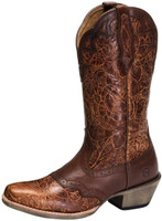 Noble 66039-149 Womens All Around Tapered Toe Rose Boot