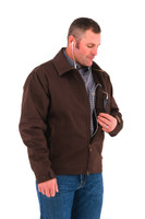 Noble Outfitters 18504-130 Mens Ranch Tough Chocolate Jacket