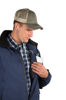 Noble Outfitters 18506-726 Mens Endurance Waterproof Navy Hood Jacket