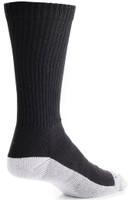Bates Footwear Mid Calf Uniform Performance Black 1 Pk Socks Made in the USA