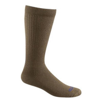 Bates Footwear Mid Calf Thermal Performance Coyote Brown 1 Pk Socks Made in the USA
