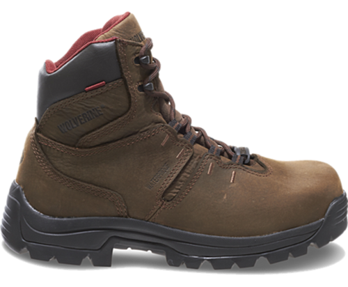 """Wolverine W04405 Mens Bonaventure 6"""" Steel-Toe Electrical Hazard Waterproof Work Boot"""