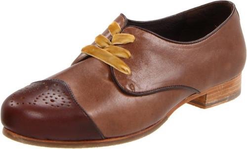 Wolverine W05274 Womens Etta Brown Oxford Blucher Style Shoe