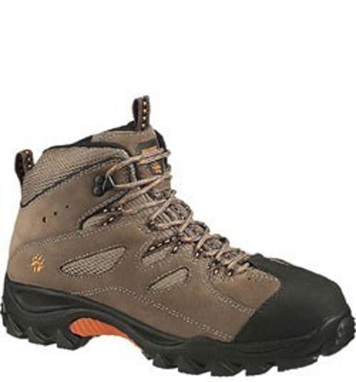 Wolverine W06654 Mens Hudson Mid-Cut Steel-Toe EH Slip Resistant Hiker Work Boot