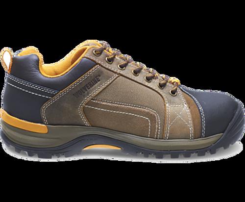 Wolverine W10240 Mens Chisel Low-Cut Steel-Toe Electrical Hazard Work Shoe