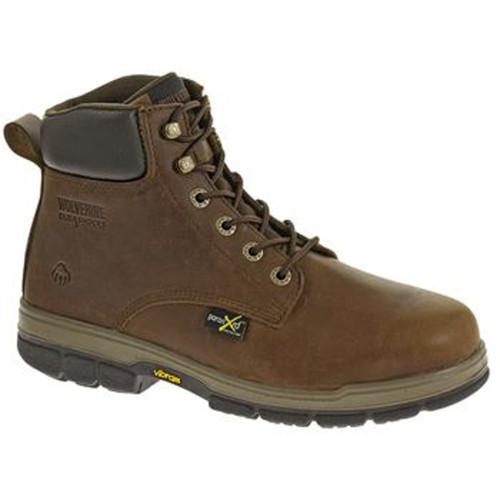 """Wolverine W10361 Mens Gallatin DuraShocks® 6"""" Steel-Toe Work Boot"""