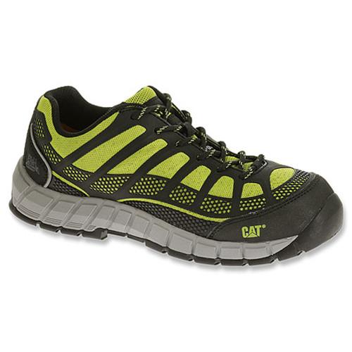 Caterpillar P90507 Womens Streamline Composite Toe Lime Work Shoe