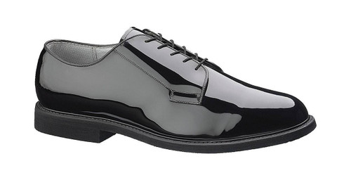 Bates 007-B Mens Premium High Gloss Leather Sole Uniform Shoe