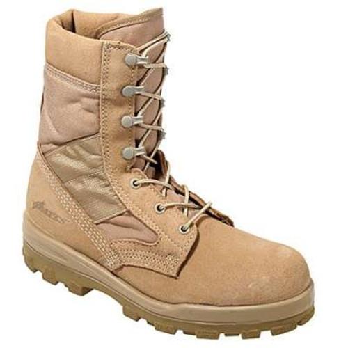 Bates 1223-B Mens Tan Hot Weather Combat DuraShocks Military Boots