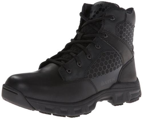 Bates 6606-B Mens 6 Inch Code 6 Side Zip Lightweight Black Tactical Boot