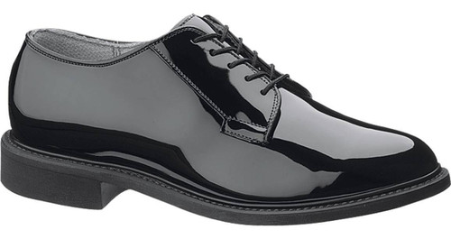 Bates 941-W Mens Uniform Black High Gloss Military Oxfords Shoes