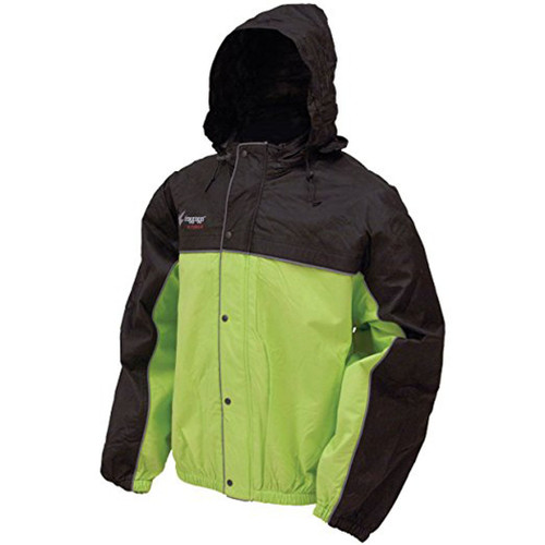 Frogg Toggs Unisex-Adult High Visibility Road Toad Rain Jacket