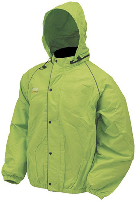 Frogg Toggs Unisex Adult High Visibility Road Toad Rain Jacket