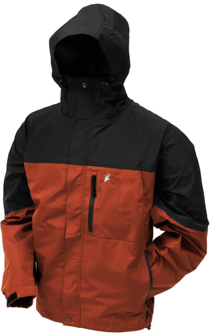 Frogg Toggs FNT6601145 Mens Toad Rage Rust/Black Jacket