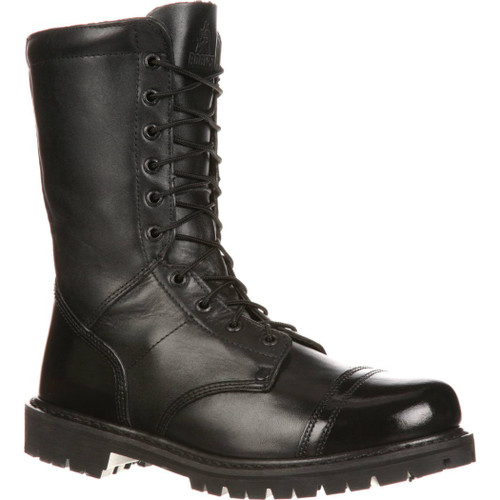 Rocky 2090 Mens Side Zipper Paraboot Duty Jump Boot