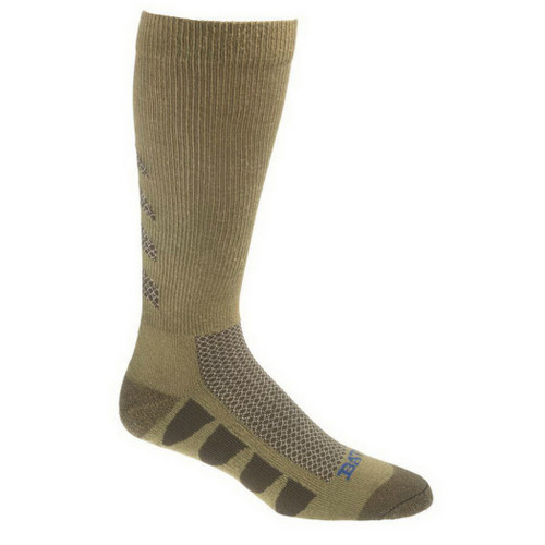 Bates Footwear EPS Moisture Wicking Army Brown 2 Pk Large Socks
