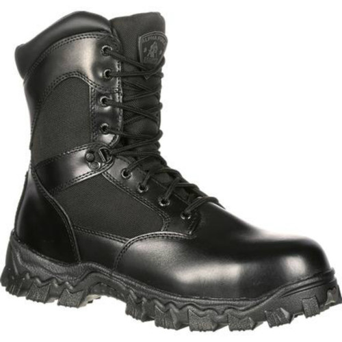 Rocky R2173 Mens Alphaforce Zipper Waterproof Duty Boot